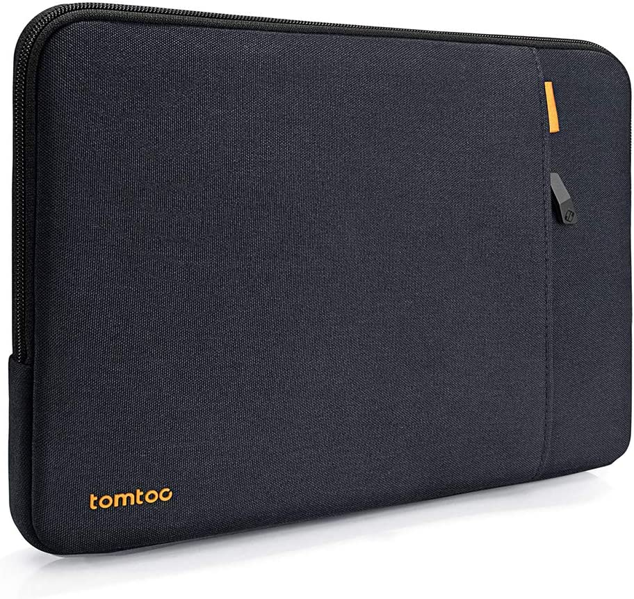 tomtoc 360° Protective Laptop Sleeve Bag for 12-inch MacBook Retina Display A1534, 11-inch iPad Pro with Magic/Smart Keyboard Folio or Logitech Slim Folio Pro Case, Shockproof, Accessory Pocket