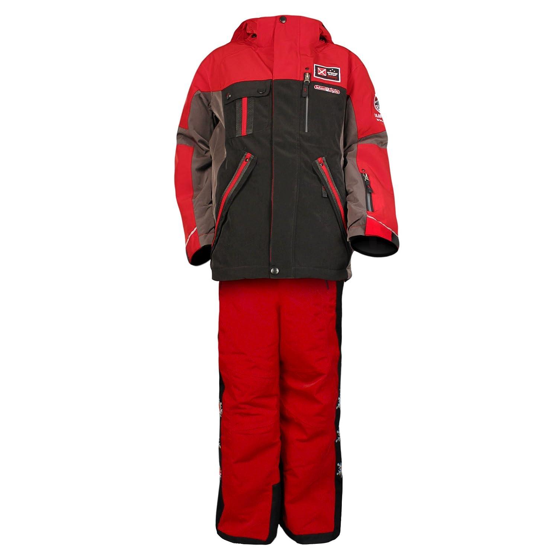 Kinderskianzug Skijacke Skihose Killtec Bobic Jungen Rot/Schwarz Farb- und Größenwahl