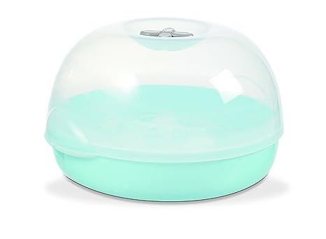 NUK esterilizador Micro Ondes azul verde: Amazon.es: Bebé