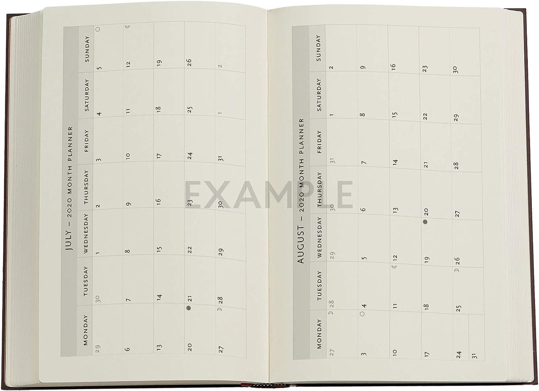 Maxi Lehmrost Softcover Vertikal Paperblanks 18 Monatskalender Flexi 2020-2021 135 /× 210 mm