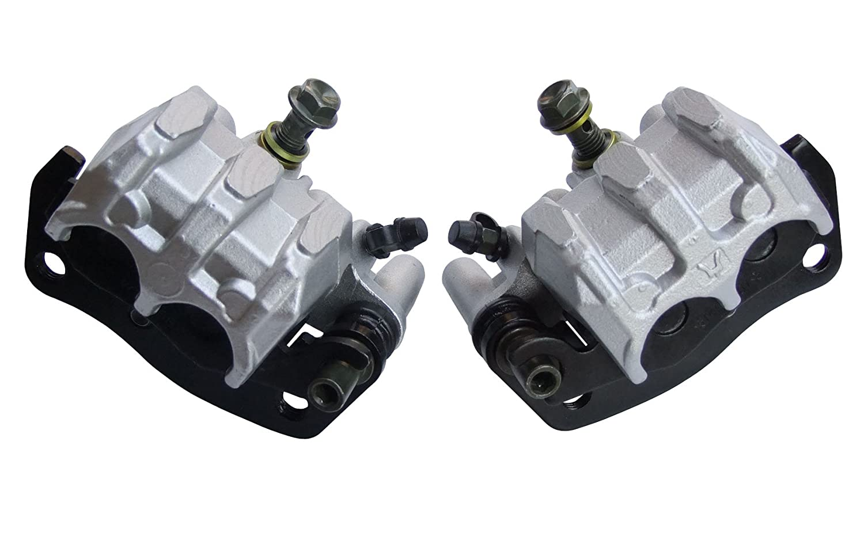 shamofeng Front Brake Caliper Left and Right Set with Pads For YAMAHA RHINO 700 UTV YXR 700 2008-2013 RHINO 660 YXR 660 2004-2007
