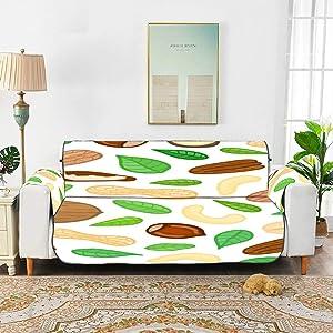 Yuejh Peanut Little Beans Daily Food Sofa Furniture Cover Sofa Cover Couch Furniture Covers for 45