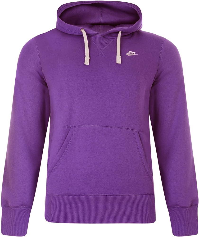Nike con capucha para hombre Chándal Jogging Top bluza Azul y ...
