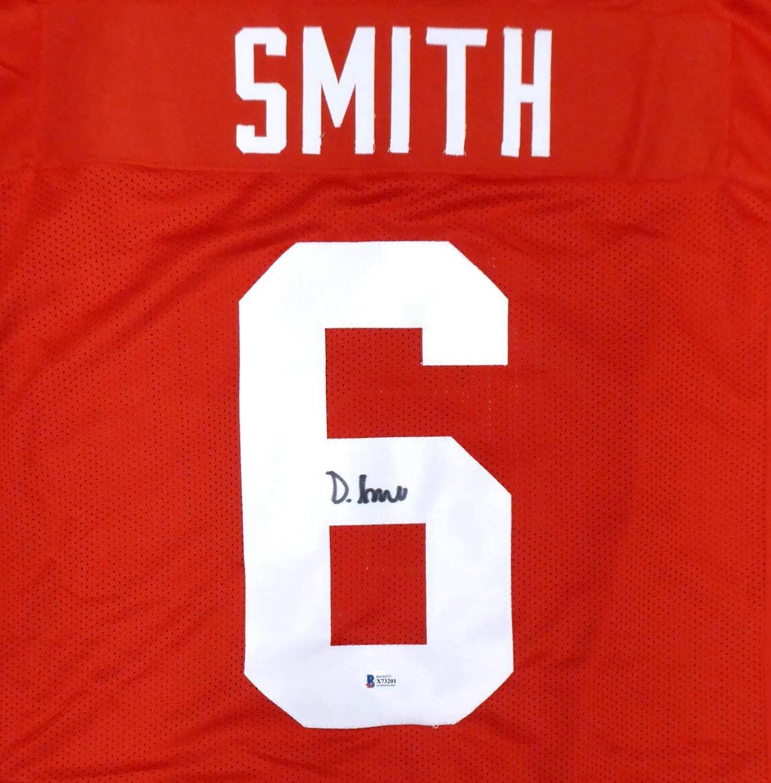 Authentic Autographed Alabama Crimson Tide Devonta Smith Red ...