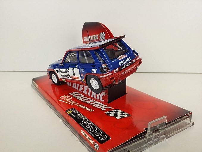SCX Slot Car Scalextric Classic 6240 Renault 5 Maxiturbo Nº3 Ragnotti / Thimonie: Amazon.es: Juguetes y juegos