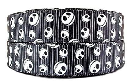 nightmare before christmas jack all over 1 wide repeat ribbon sold in yard lots