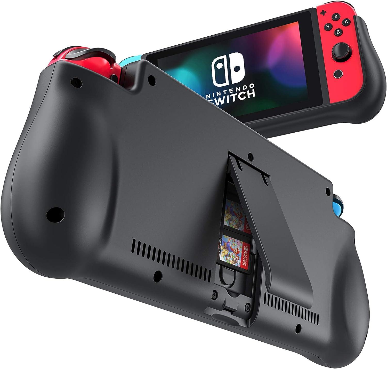 Cover Batería para Nintendo Switch, iPosible 10000mAh Funda Cargador Portatil Batería Externa Ultra Carcasa Batería Recargable Power Bank Case para Nintendo Switch: Amazon.es: Electrónica