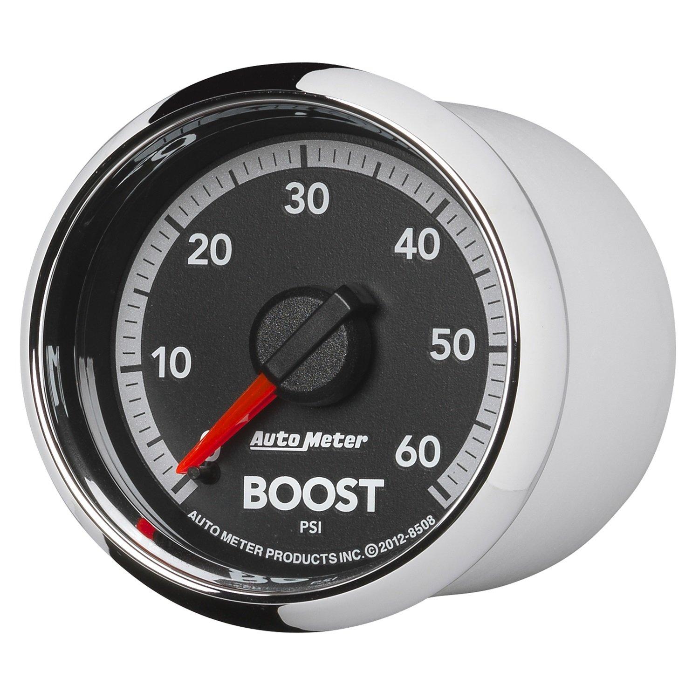 Auto Meter 8508 Factory Match 2-1/16'' Mechanical Boost Gauge (0-60 PSI, 52.4mm)