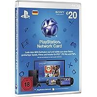 PlayStation Network Card 20 € [Guthabenkarte für deutsches PSN-Konto]