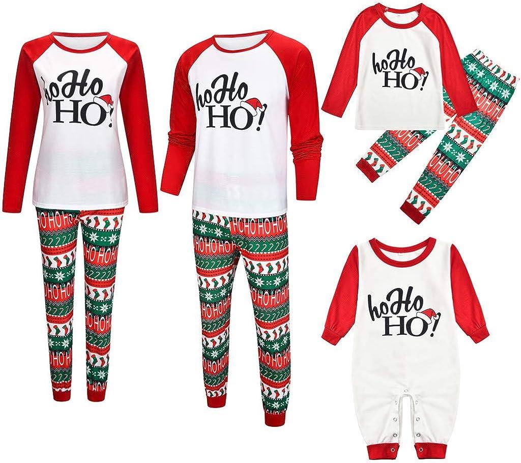 Toddler Baby Girls Bodysuit Short-Sleeve Onesie Xmas Socks Ho Ho Ho Print Jumpsuit Autumn Pajamas