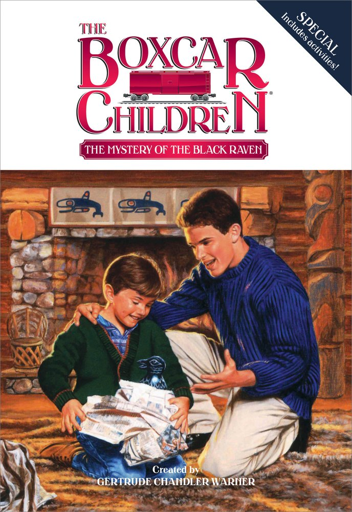 Mystery Black Boxcar Children Special product image