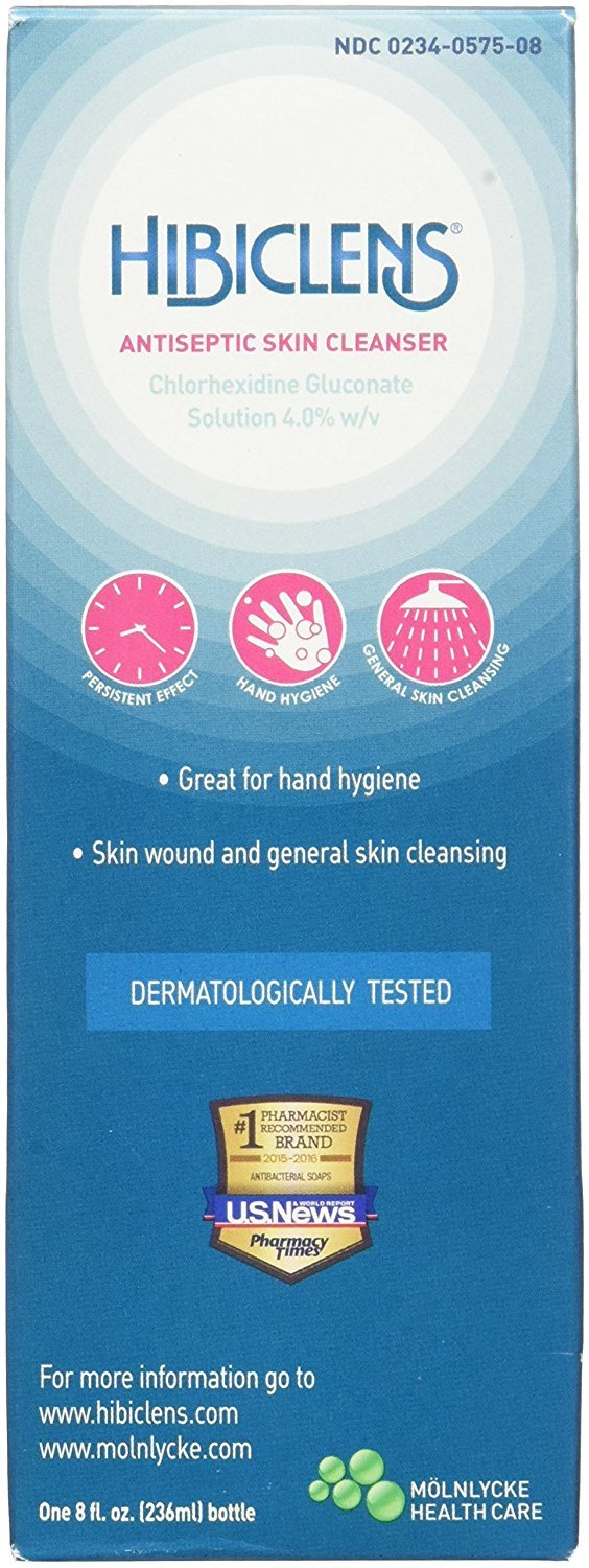 Hibiclens Antimicrobial Skin Liquid Soap, 8 Fluid Ounce (Packaging may vary) 95216