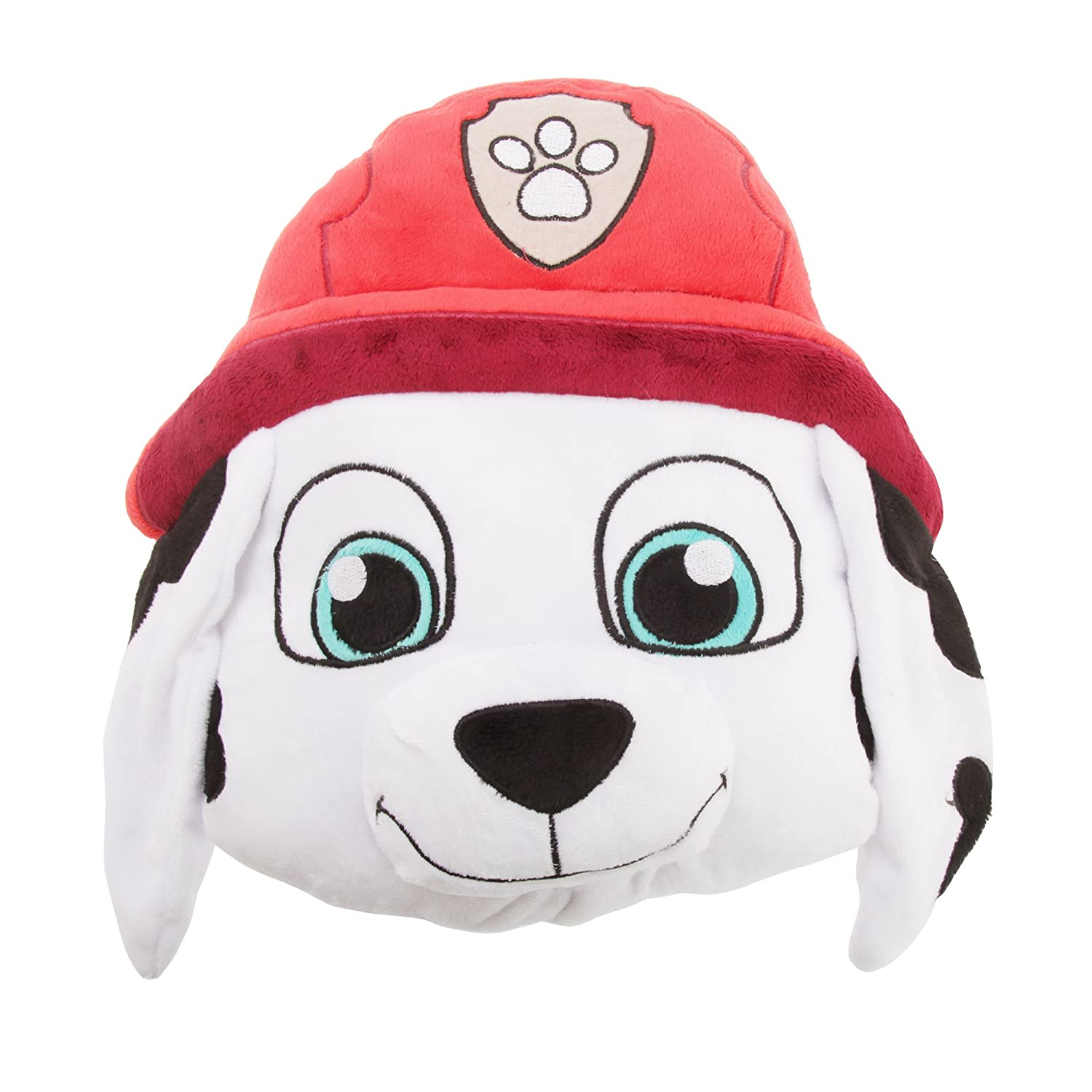 Paw Patrol Childrens/Kids Official Character Design Plush Cushion (One Size) (Marshall) UTMS558_1