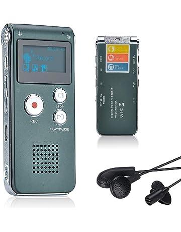 8GB Memoria Grabadora de Voz Pluma con Grabaci/ón de 18 Horas,192kbps WAV a WMA//MP3//WAV Kafuty 8GB Grabadora de Voz Digital Llavero