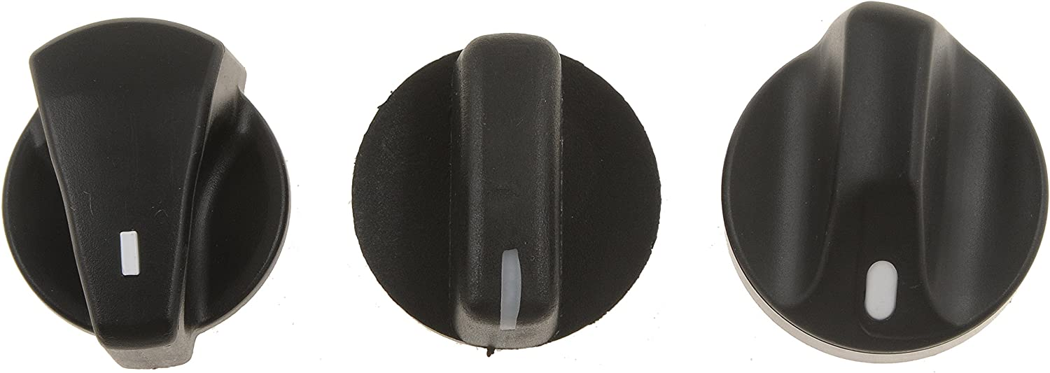 Compatible with 1992-2002 Ford F-150 Heater and Air Conditioning Control Knob Up To 11//15//2002 Black