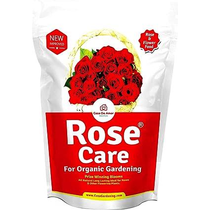 Casa De Amor Organic Complete Rose Plant Care (900g, Brown)