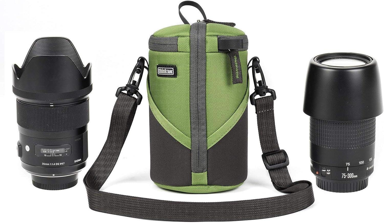 Green Think Tank Photo Lens Case Duo 10 for DSLR//Mirrorless Lenses Canon Nikon Sony Olympus Sigma Tamron Tokina