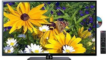 40 pulgadas Full HD LED de televisor de JTC – Nuevo Modelo DVX4, reproductor de DVD integrado,