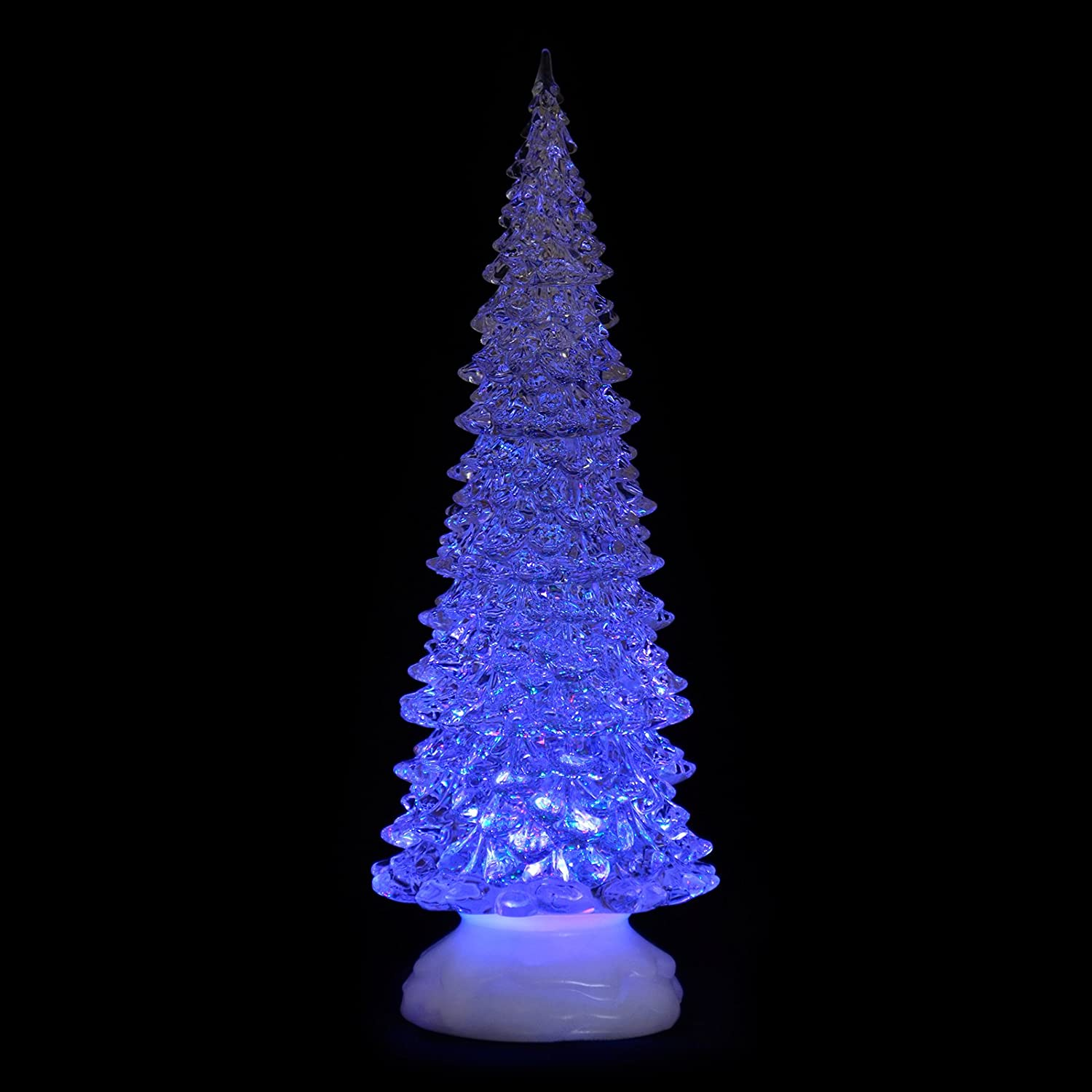 The Christmas Workshop Battery Operated Colour Changing Acrylic