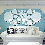 Anself 26pcs Set Stickers Muraux Acrylique Stick Accueil Décoration Décoration Art Autocollants Autocollants DIY Art