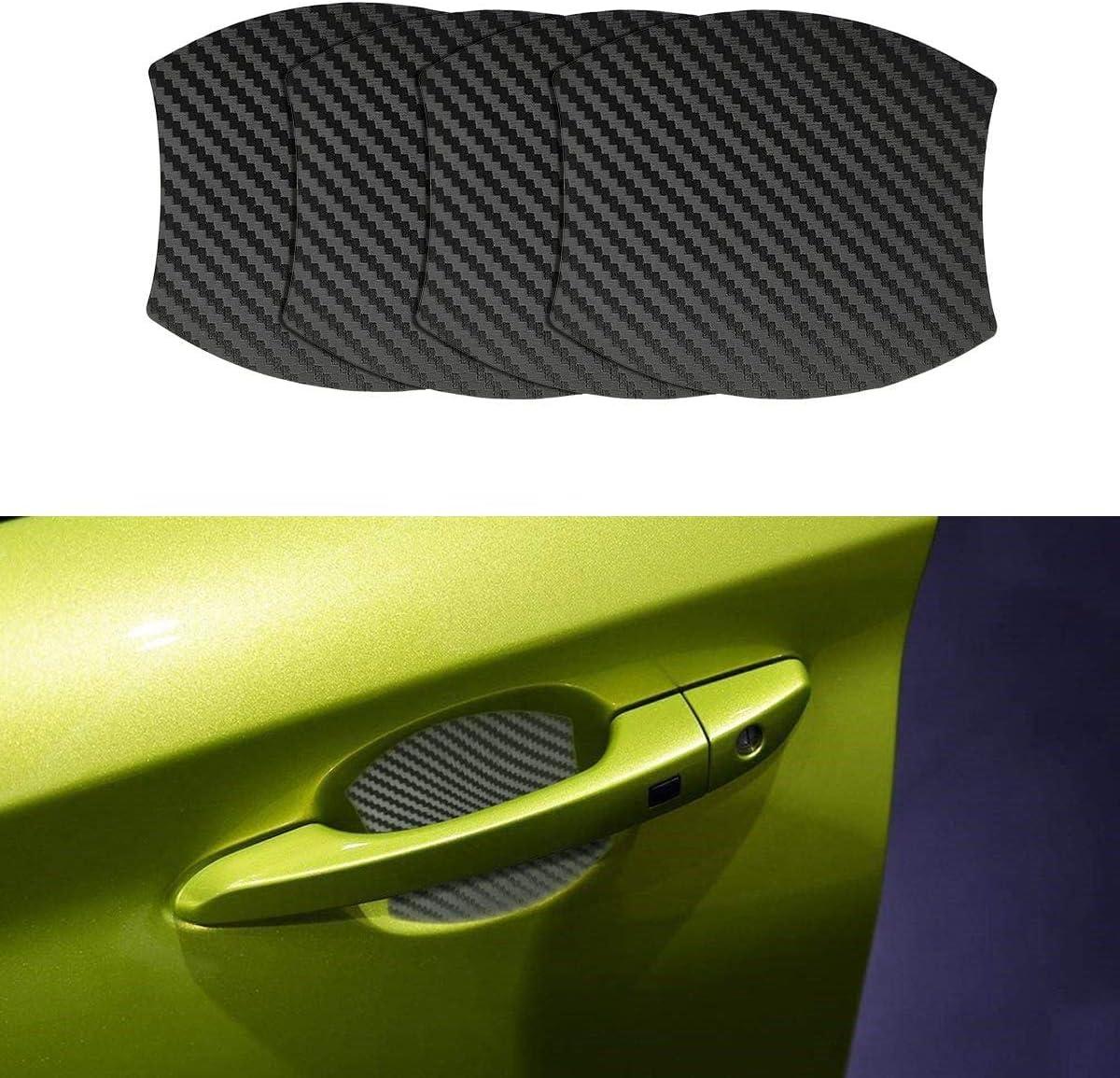 Mling Magnetisch Türgriffmulde Schutz Kratzfest Türgriffmulde Lackschutz 4 Stück Kompatibel Für Kona Auto