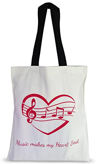 Amazon.com: CLEARANCE .... Kids Music Tote Bag for Piano Sheet ...