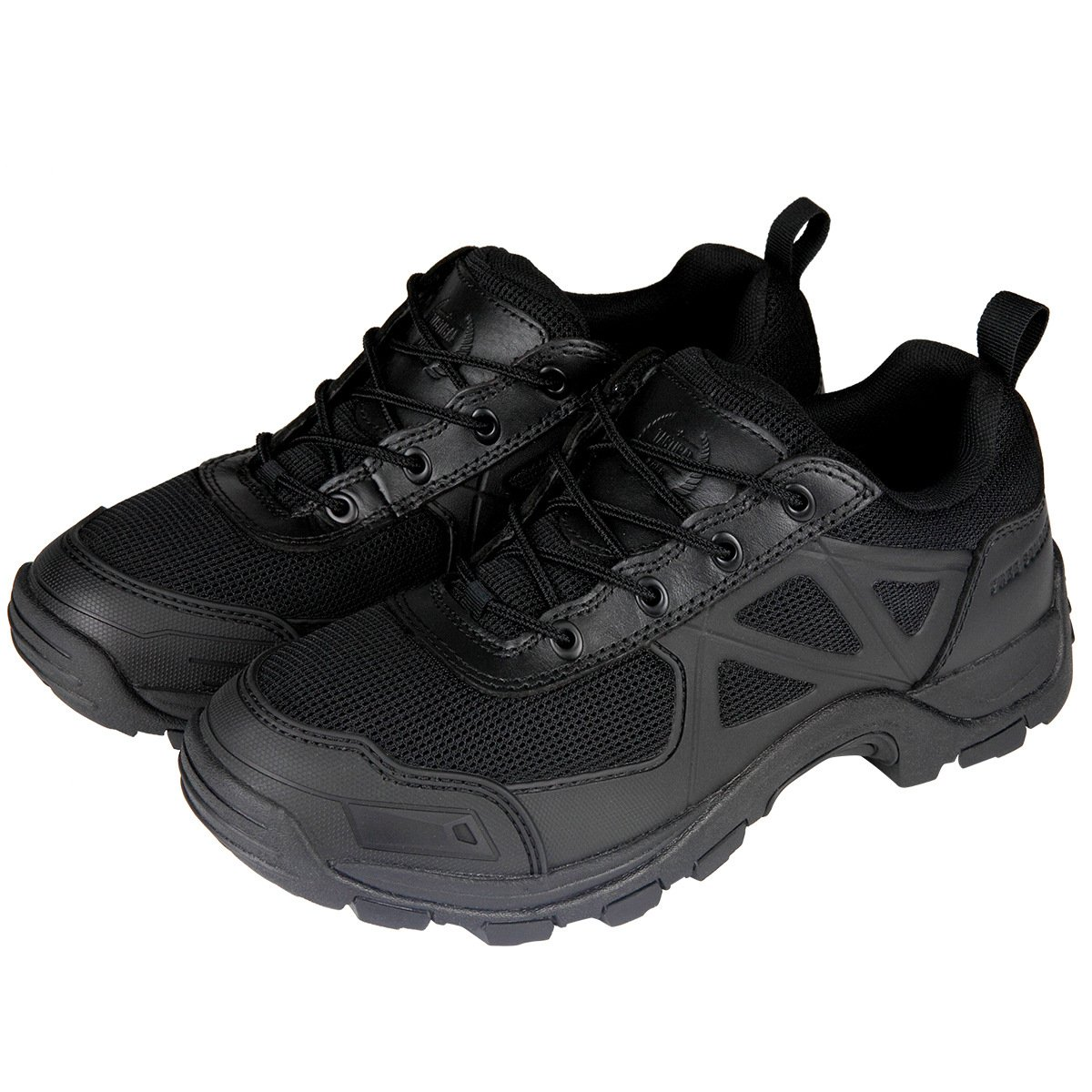 Free Soldierアウトドア急速なノンスリップキャンプハイキングブーツMountain all-terrainオフロード靴 ブラック