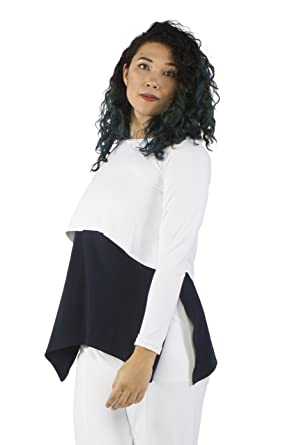 03091c742c4 Sympli Women's Shorty Top~White at Amazon Women's Clothing store: