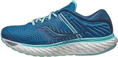 Saucony Triumph 17 Blue/Aqua, Zapatillas de Atletismo Mujer: Amazon.es: Zapatos y complementos