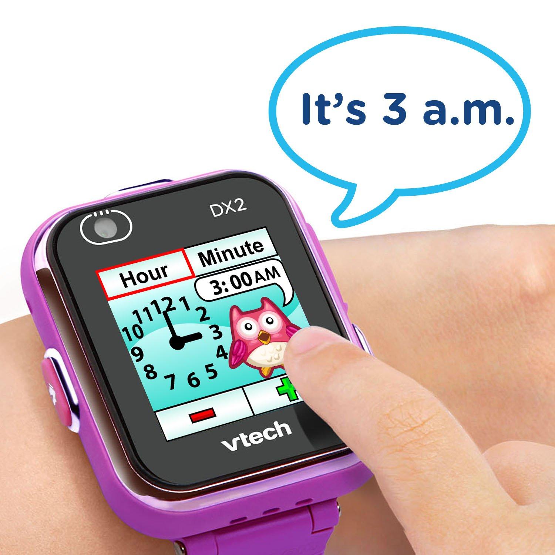 VTech Kidizoom Smartwatch DX2 Special Edition Floral Birds with Bonus Vivid Violet Wristband by VTech (Image #3)