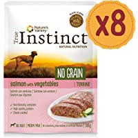 True Instinct No Grain Terrina para Perros Medium-Maxi Adult con Salmón y Verduras - 8 x 300 gr