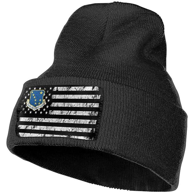 Air Force Headquarters Alaska Air National Guard Black Unisex Mens Womens  Beanie Hats at Amazon Men s Clothing store  4438da3d2