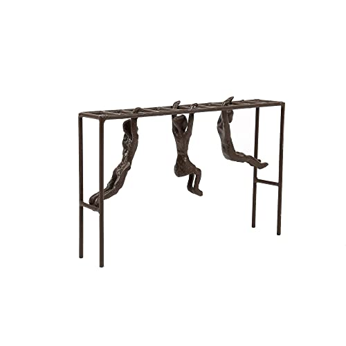 CTG, Brown, Antique Bronze-Look Playground Sculpture, 8.5 x 5.5 x 1.5 inches