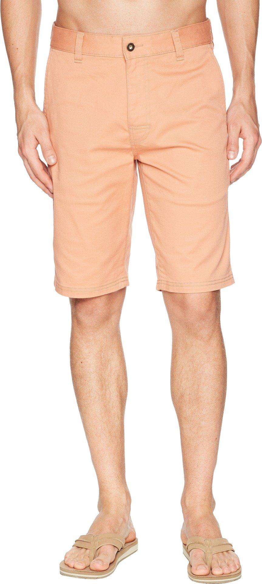 prAna Table Rock Chino Shorts, Sunset Pink, Size 32