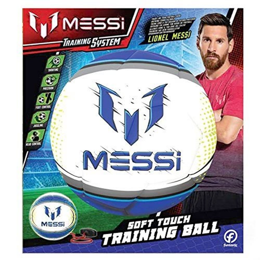 OUTDOOR met14300/Messi 2/in 1/Soft Touch Training Ball Wei/ß