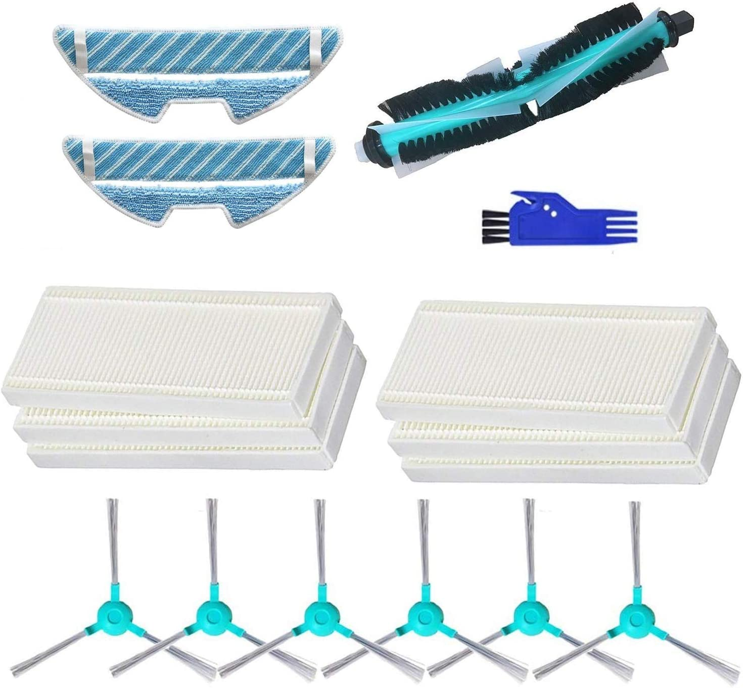 MTKD® Kit Accesorios para Aspiradora Robot Cecotec Conga ...