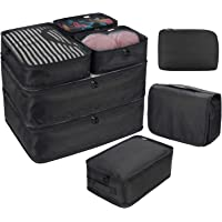 DIMJ Packing Cubes for Travel, 8 Pcs Travel Cubes for Suitcase Lightweight Travel Essential Bag with Large Toiletries…