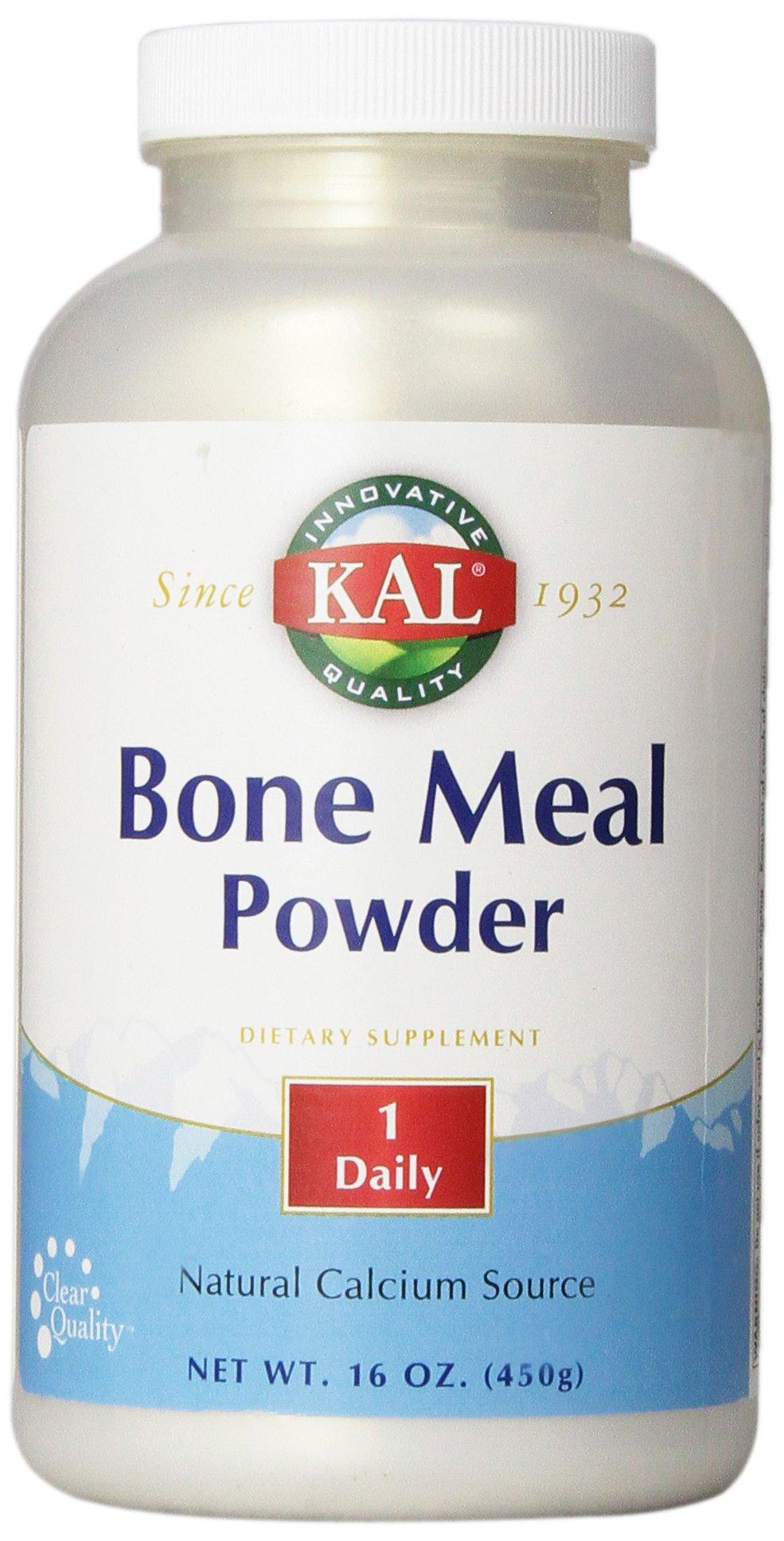 KAL Bone Meal Powder 450 g, 16 Ounce