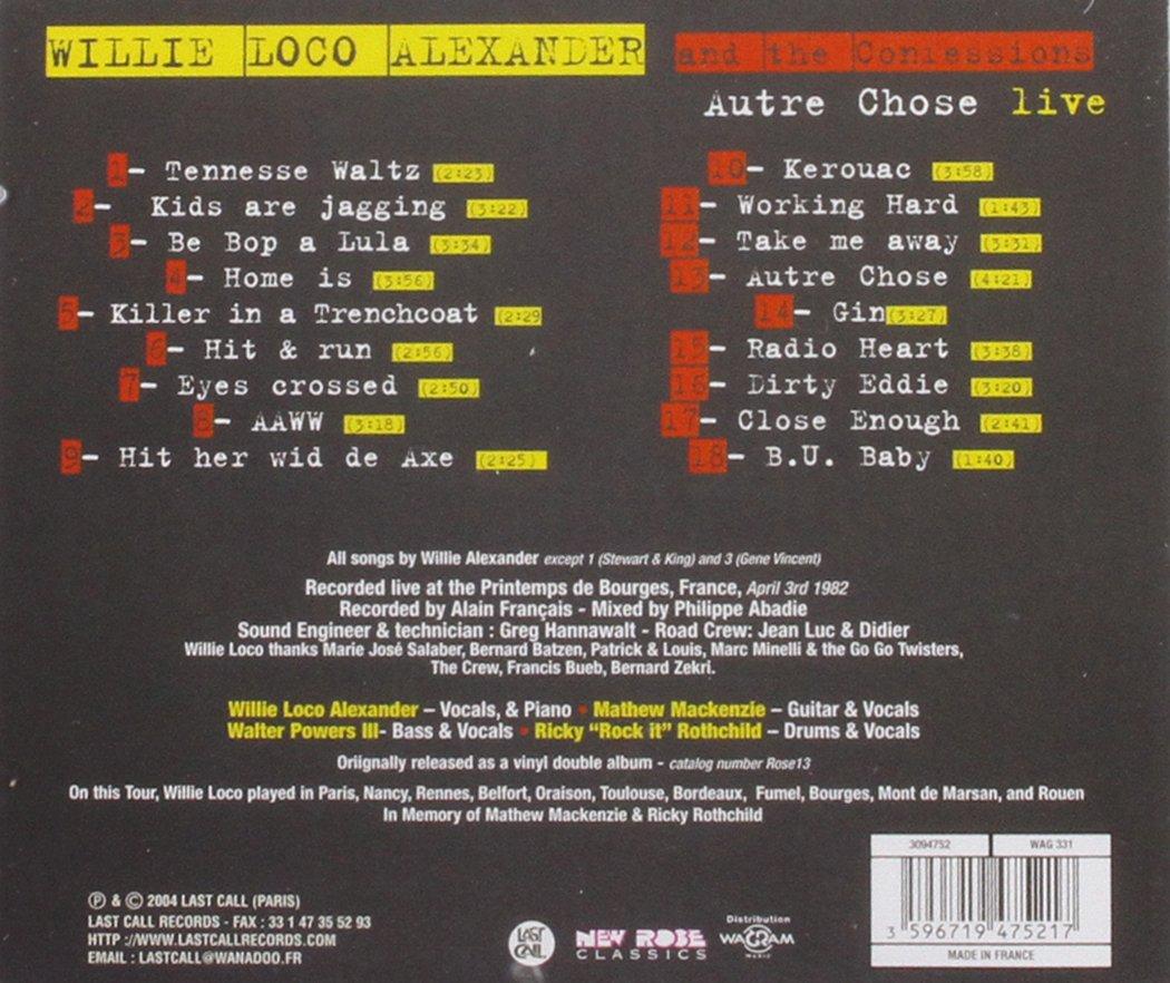 Autre Chose : Live Bourges 1982 by Last Call