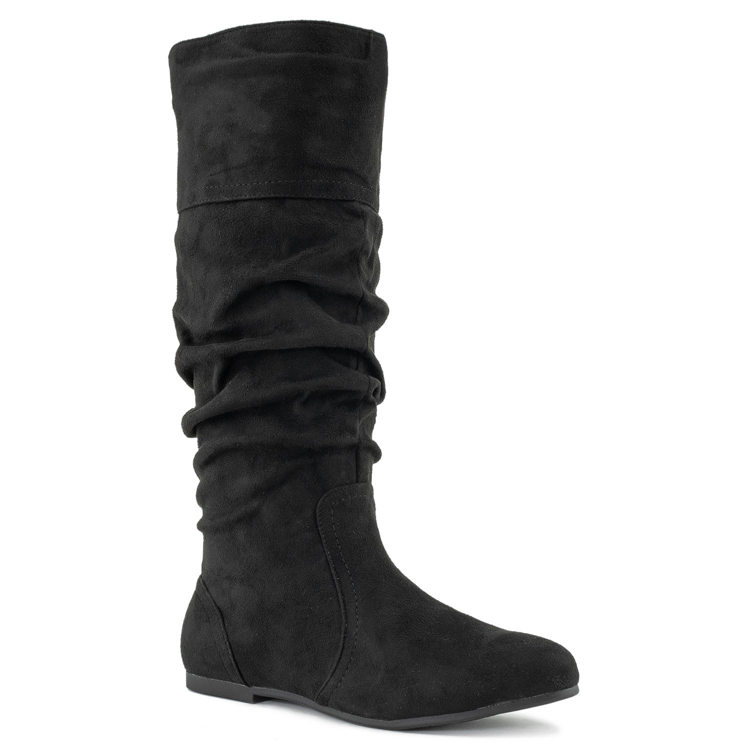 RF ROOM OF FASHION Touched-11 Boots (Black SU Size 6.5)