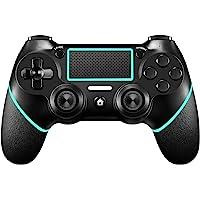 Mando de PS4 【Versión mejorada】 Mando inalámbrico ORDA para Playstation 4/Pro/Slim/PC (7/8/8.1/10) con motores de…