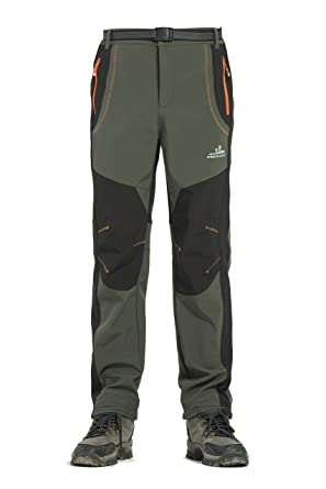 76e2c0c5b Rainbow Cloud Men's Waterproof Outdoor Pants Soft Shell Snow Ski Pants Warm  Trousers