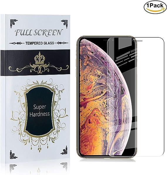 NBKASE Protector Pantalla para Apple iPhone 11 Pro Max, Unidades Cristal Templado 9H Dureza/Alta Transparencia/Anti-Huella Protector de Pantalla, 1 Piezas: Amazon.es: Bebé