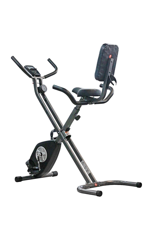 CADENCE Unisex - Bicicleta estática plegable SMARTFIT 200, negro y ...