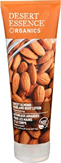 product image for DESERT ESSENCE Almond Hand And Body Lotion, 8 FZ