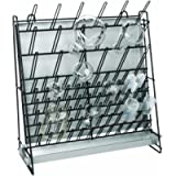 Heathrow Scientific HD23243A Glassware Drying Rack, Vinyl-Coated Steel Wire Construction, Self-Standing or Wall…