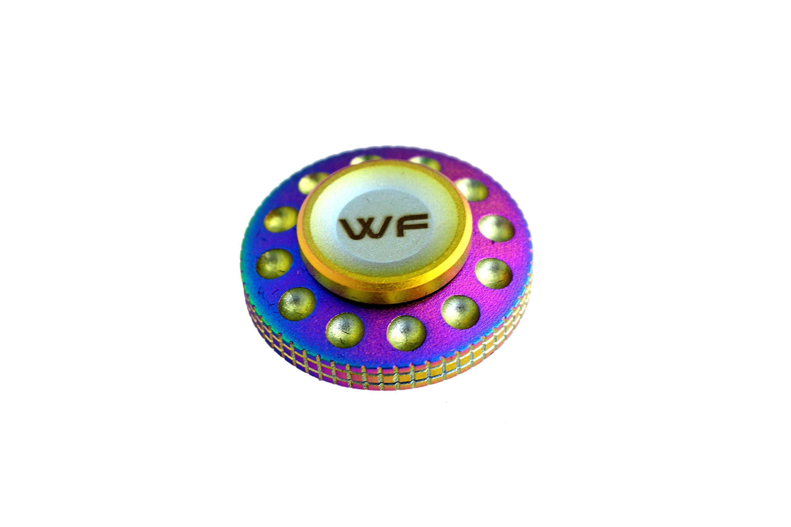 WeFidget Original Mini UFO Fidget Spinner, Super Discrete, Premium Finish, Replaceable Bearings. by WeFidget (Image #2)