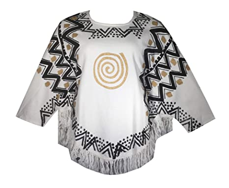 51336d7a2f4 Amazon.com  Decoraapparel African Dashiki Blouse Mud Cloth Vintage Shirt  Women Hippie Cotton Poncho  Clothing