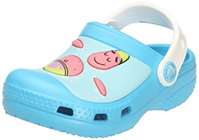 finest selection 41e3a c4fc3 Crocs Spongebob   Patrick Star Spalsh in the Sea Clog (Toddler Little Kid)