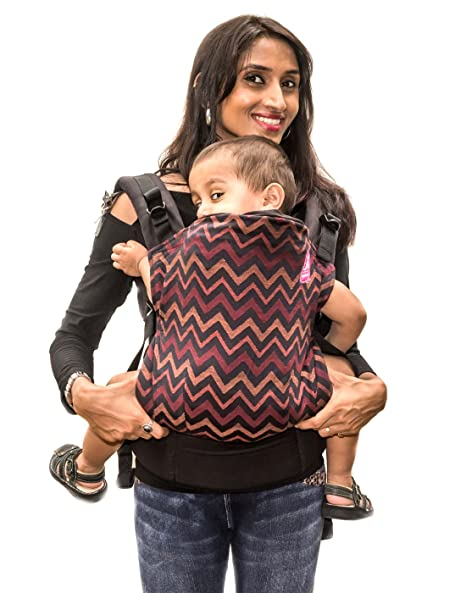 816899dfe7 Buy Anmol Baby Carriers - Ruhaani Black Soft Structured Baby Carrier Online  at Low Prices in India - Amazon.in
